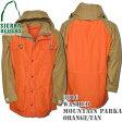 SIERRA DESIGNS (シエラデザインズ) WASHED MOUNTAIN PARKA ウォッシュド マウンテン パーカー Orange/Tan 3016G