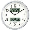 4FYA01-019 壁掛け時計 シチズン CITIZEN 電波時計 ネムリーナカレンダーM01 4FYA01019 シチズン時計 電波掛け時計 電波掛時計 壁掛時計 かけ時計 壁掛け電波時計 電波壁掛け時計【送料無料(北海道1000円沖縄2000円別途加算)】