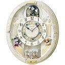FW580W 壁掛時計 SEIKO セイコー ディズニータイム ミッキー&フレンズ 壁掛け時計 電波時計 電波掛け時計 電波掛時計 壁掛時計 かけ時計 壁掛け電波時計 電波壁掛け