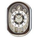 【お取り寄せ】RE578B 電波からくり時計 SEIKO セイコー スワロフスキー・クリスタル 壁掛...