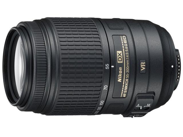 Nikon / ニコン デジタル一眼レフカメラ専用レンズ AF-S DX NIKKOR 55-300mm f/4.5-5.6G ED VR 【レンズ】【送料無料】