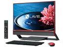 ★NEC LAVIE Desk All-in-one DA770/EAR PC-DA770EAR [クランベリーレッド] 【デスクトップパソコン】【送料無料】