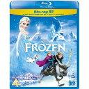 アナと雪の女王 イギリス盤 / Frozen [Blu-ray 3D + Blu-ray] [Region Free][Import] (2013) 輸入盤【送料無料】