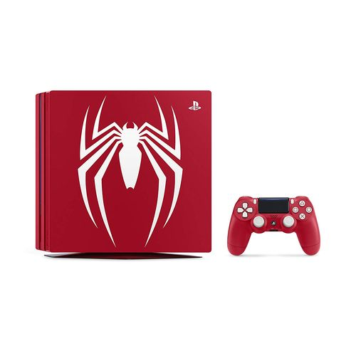 PlayStation 4 Pro Marvel's Spider-Man Limited Edition PS4 Pro スパイダーマン 本体同梱版