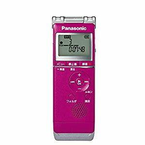 パナソニック ICレコーダー 4GB ピンク RR-XS360-P