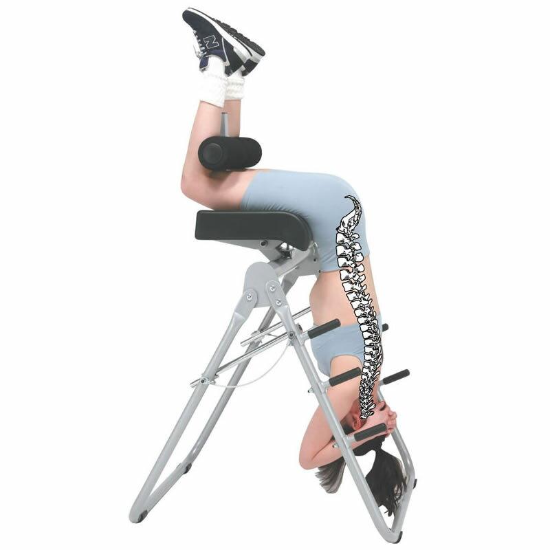 バックストレッチII(き) 健康器具重力の逆利用で負担のかかる脊柱への圧迫を開放!