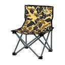 アウトドア キャンプ用品 椅子 チェア キャンプアウト コンパクト チェア カモフラージュUC-1627 (CP)