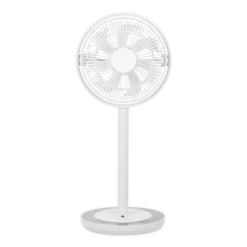 カモメファン 扇風機 リビングファン 28cm ホワイト FKLS-281D WH