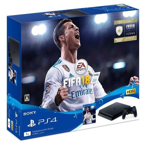 【ママ割】ポイント5倍(対象ショップ限定エントリー必要)PlayStation 4 FIFA 18 Pack CUHJ-10017
