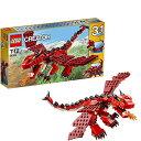 レゴ クリエイター ファイヤードラゴン 31032の画像