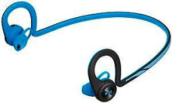 PLANTRONICS両耳BluetoothワイヤレスヘッドセットBackBeatFitBlueBACKBEATFIT-BL