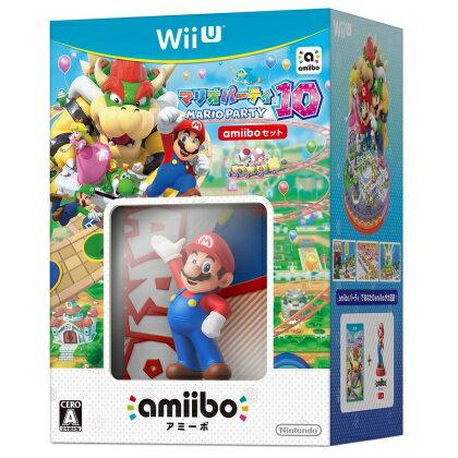 マリオパーティ10 amiiboセット [Nintendo Wii U] 【送料無料】
