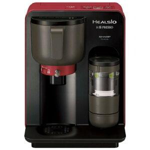 お茶メーカー お茶PRESSO レッド系 SHARP HEALSIO TE-GS10A-R