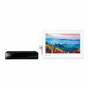 パナソニック 10V型 ポータブル 液晶テレビ 防水タイプ 500GB HDDレコーダー付き プライベート・ビエラ ホワイト UN-10T5-W【ラッピング不可】【MC】