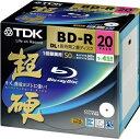 TDK 録画用ブルーレイディスク 超硬シリーズ BD-R DL 50GB 1-4倍速 ホワイトワイドプリンタブル 20枚パック 5mmスリムケース BRV50HCPWB20A