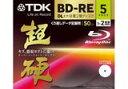 【ママ割】ポイント5倍対象ショップ限定 4/22 20:00スタート(エントリー必要)TDK データ用ブルーレイディスク 超硬シリーズ BD-RE DL 50GB 1-2倍速 ホワイトワイドプリンタブル 5枚 5mmスリムケース BED50HCPWA5A