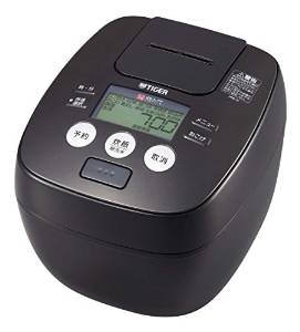 タイガー 炊飯器 圧力IH 「炊きたて」 5.5合 アーバンブラック JPB-H101-KU