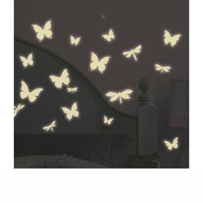 ▼ウォールステッカー バタフライ&ドラゴンフライ★Butterflies & Dragonflies ルームメイツ▼(RoomMates ルームメイツ 簡単 はがせる 楽しい 雰囲気) ▼ルームメイツ▼