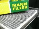 MANN-FILTER(マンフィルター)キャビンフィルター(エアコンフィルター)FOR VW GOLF5/TOURAN/JETTA/EOSOE番号:1K2819653B