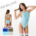 REALISE(リアライズ)【N-111】競泳水着 コスチューム ワンピーススイムスーツ Circular hole swimsuit(Wカレンダー加工) 【送料無料】