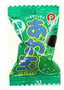 【駄菓子】10円 あわ玉 レモンライム(100個+当たり3個入)