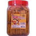 【懐かしのポット駄菓子】激辛カレーせんべい(60枚入)【駄菓子】