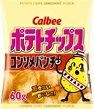 60 ポテトチップス コンソメパンチ 小袋(24個入)