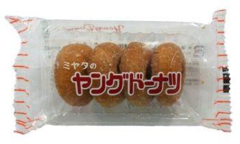 【駄菓子】40円 ミヤタのヤングドーナツ(20個入)