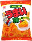 【駄菓子】120円 うまい輪 チーズ味(12個入)