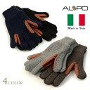ALPO(アルポ) カシミアニットレザーグローブ / 手袋 / メンズ 752/MC
