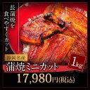【数量限定!】うなぎ蒲焼ミニカット メガ盛り1kgセッ