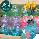 クロッカス水栽培ポット(1球用)12入りセット