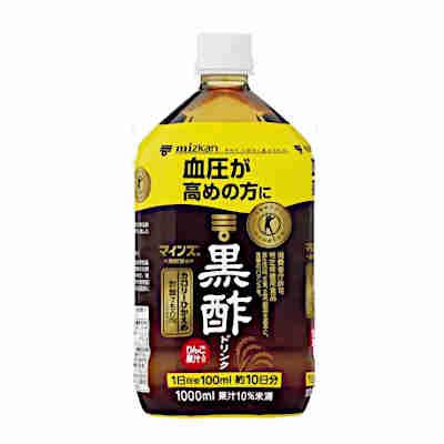 【送料無料2ケース】マインズ 黒酢ドリンク ミツカン 1L(1000ml)ペット 6本×2★北海道、沖縄のみ別途送料が必要となります
