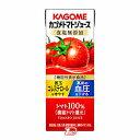ショッピングトマトジュース 【1ケース】トマトジュース 食塩無添加 カゴメ 200ml 24本入
