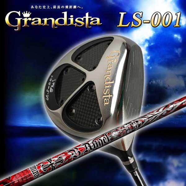 【特注カスタムクラブ】グランディスタ(Grandista)LS-001ドライバークライムオブエンジェルBurning Angel(バーニングエンジェル)シャフト  【飛距離・美しさ・やさしさ】を兼ね備えた強弾道ドライバー