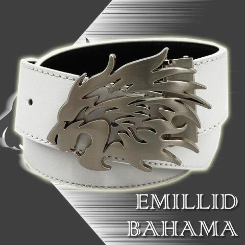エミリッドバハマ EMILLID BAHAMAベルト 本革 リバーシブルAタイプ(獅子)あす楽