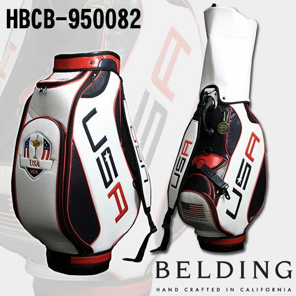 ベルディング キャディバッグライダーカップ 2016 リミテッド コレクション-オフィシャル 9.5型 HBCB-950082  BELDING 2016 RYDER CUP LIMITED COLLECTION