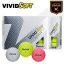 ボルビック ビビッド ソフト ゴルフボールVOLVIK VI...