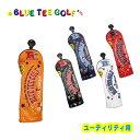ブルーティーゴルフ エナメル ヘッドカバーユーティリティー用BLUE TEE GOLF HC-011 あす楽