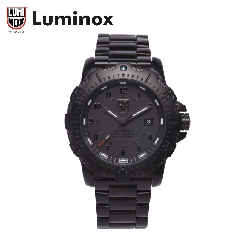 Luminox Ref.4220 Blackout ルミノックス/日本限定/ANU/ブラックアウト Luminox公式  LUMINOX ルミノックス [ルミノックス直営店]日本正規保証2年付・日本正規ギャランティカード付属・T25表記あり送料無料・き手数料無料・ラッピング無料・コマ調整無料