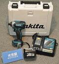 大吉屋オリジナル マキタ14.4Vインパクトドライバ 青 TD134DX2 バッテリ1個 充電器1個 ケース付き