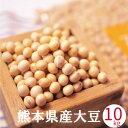 大豆 10kg 国産 ふくゆたか フクユタカ 九州 熊本県産 送料無料 あす楽 業務用 酢大豆 納豆