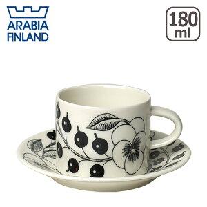 アラビア ブラックパラティッシ ブラック パラティッシ コーヒー ソーサー フィンランド