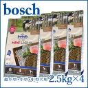 [送料無料]ボッシュ bosch ハイプレミアム ミニライト 2.5kg x4 無添加ドッグフード [北海道・沖縄は別途540円かかります]
