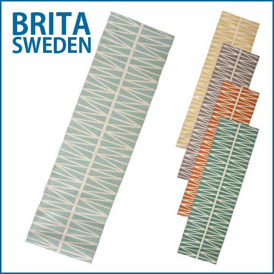 キッチンマット 洗える北欧ラグマット ブリタスウェーデン ラグ Helmi 玄関マット 70x250 cm プラスティックラグ Brita sweden 選べるカラー パペリナの次はこれ!