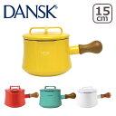 DANSK ダンスク ソースパン 1.5QT フタ付き 片手鍋15cm ホーロー 鍋 コベンスタイル 北欧ブランド ミルクパン ギフト・のし可