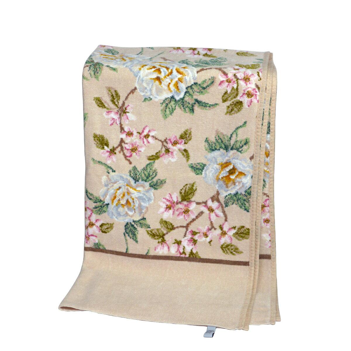 【Max1,000円OFFクーポン】フェイラー バスタオル バニラローズ FEILER 75x150cm FEILER Chenille Bath Towel Vanilla Rose ギフトに最適 日用品雑貨 ギフト・のし可