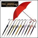 フォックスアンブレラズ FOX UMBRELLAS 傘 レディース WL1 スリムレザークルックハンドル 長傘 選べる12色 【北海道・沖縄は別途540円かかります】