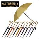 フォックスアンブレラズ FOX UMBRELLAS 傘 レディース WL4 ワンギーケインクルックハンドル 長傘 選べる12色 【北海道・沖縄は別途540円かかります】