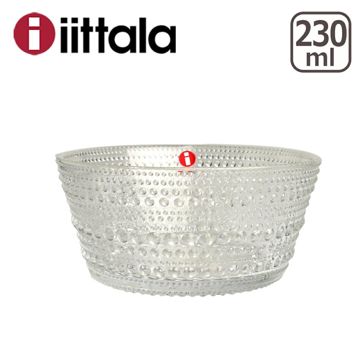イッタラ カステヘルミ iittala (KASTEHELMI) ボウル 230ml クリアー ita7505-p ガラス ボウル イッタラ/ittala 北欧 フィンランド 食器 02P09Jul16